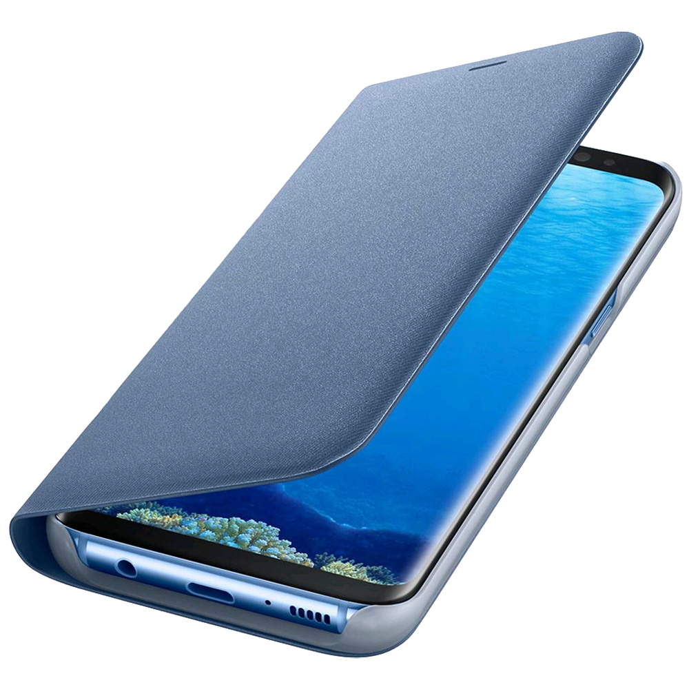 Phone Cases Led View Book Blue SAMSUNG Galaxy S8 Plus 160388 Samsung ...