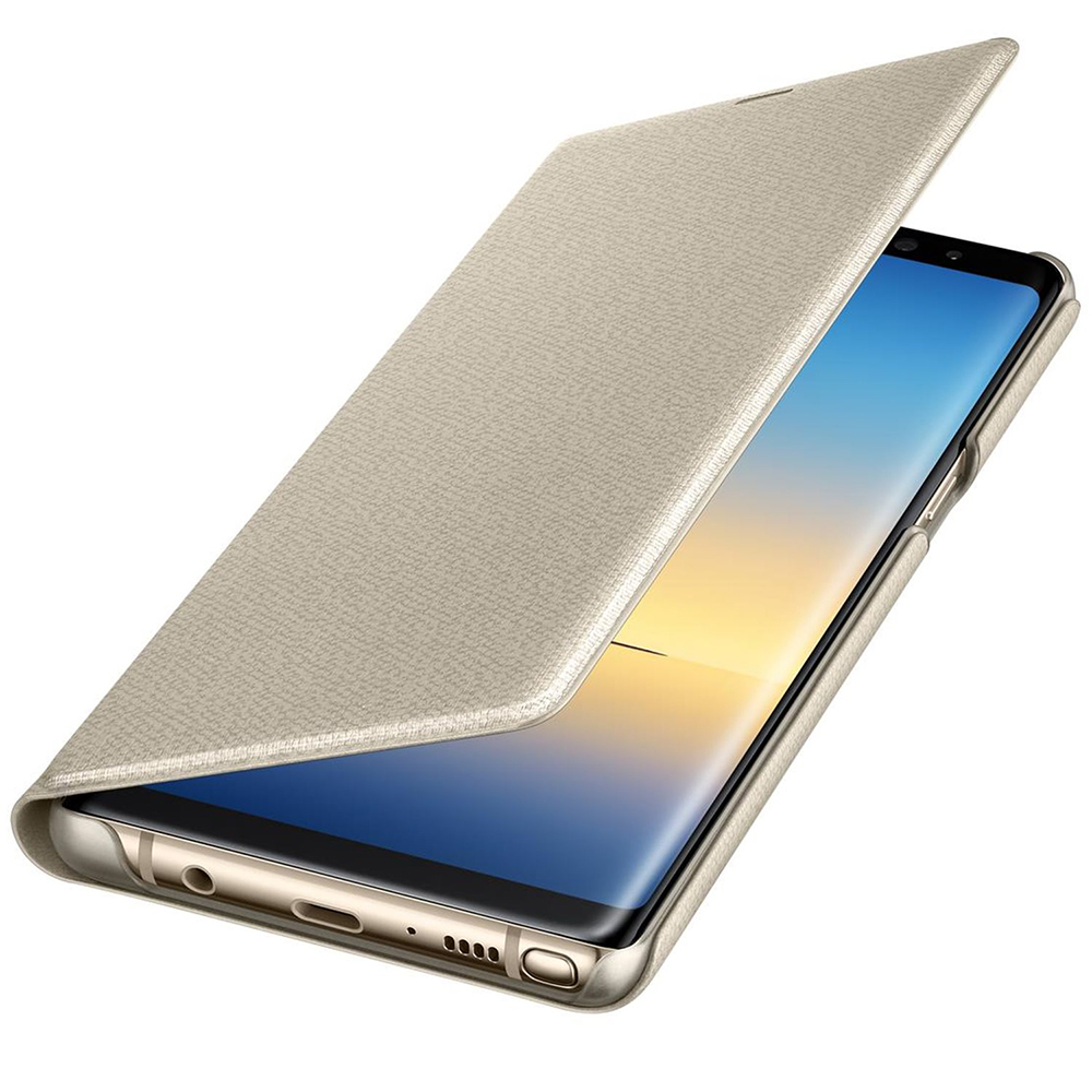 Led View Book Gold SAMSUNG Galaxy Note 8