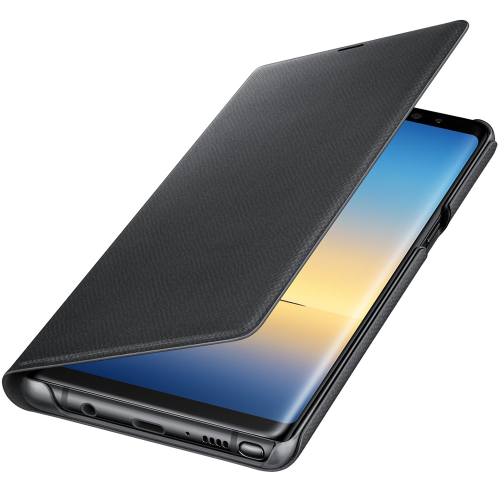 Led View Book Black SAMSUNG Galaxy Note 8
