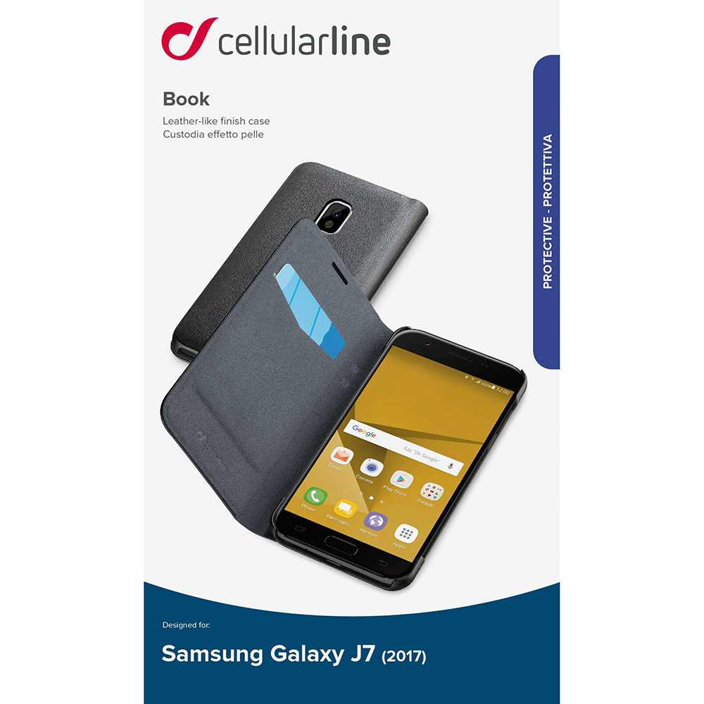 Book Black SAMSUNG Galaxy J7 2017
