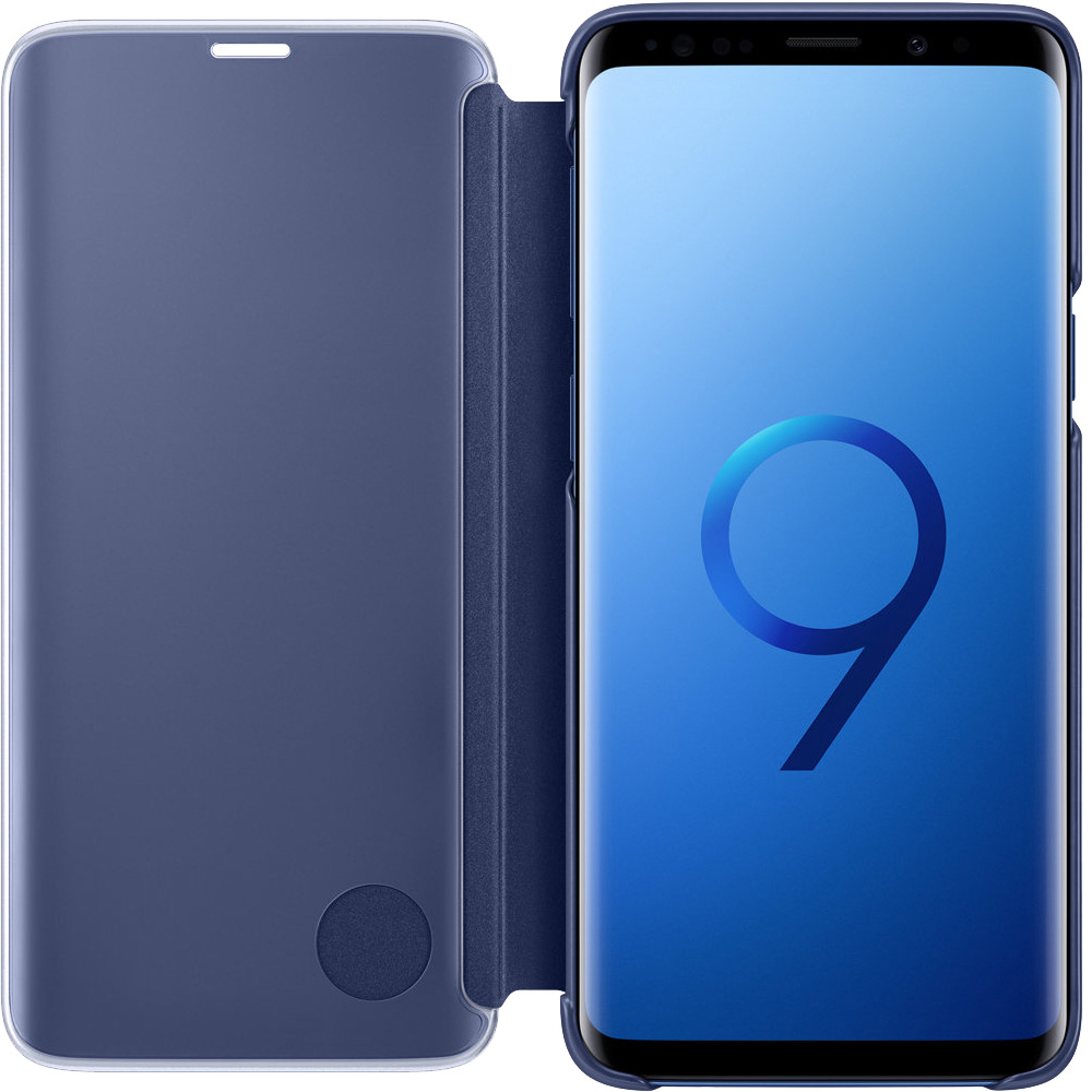 Clear View Standing Book Blue SAMSUNG Galaxy S9
