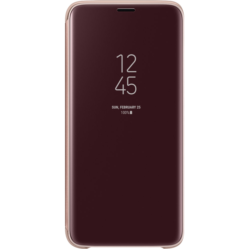 Clear View Standing Book Gold SAMSUNG Galaxy S9