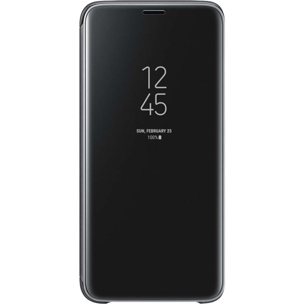 Clear View Standing Book Black SAMSUNG Galaxy S9