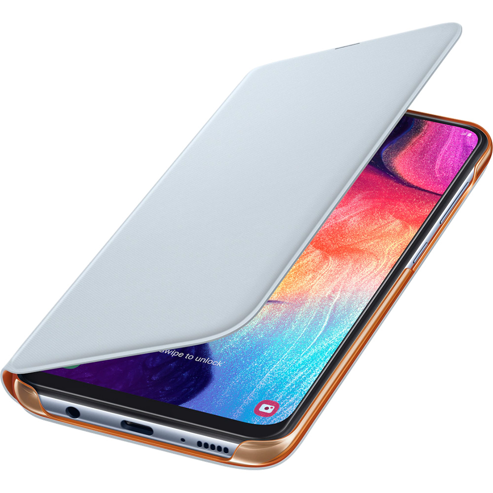 Wallet Book White SAMSUNG Galaxy A50
