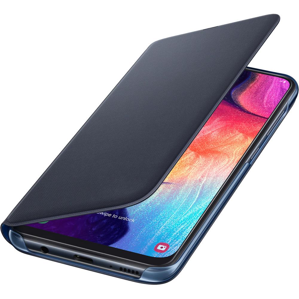 Wallet Book Black SAMSUNG Galaxy A50