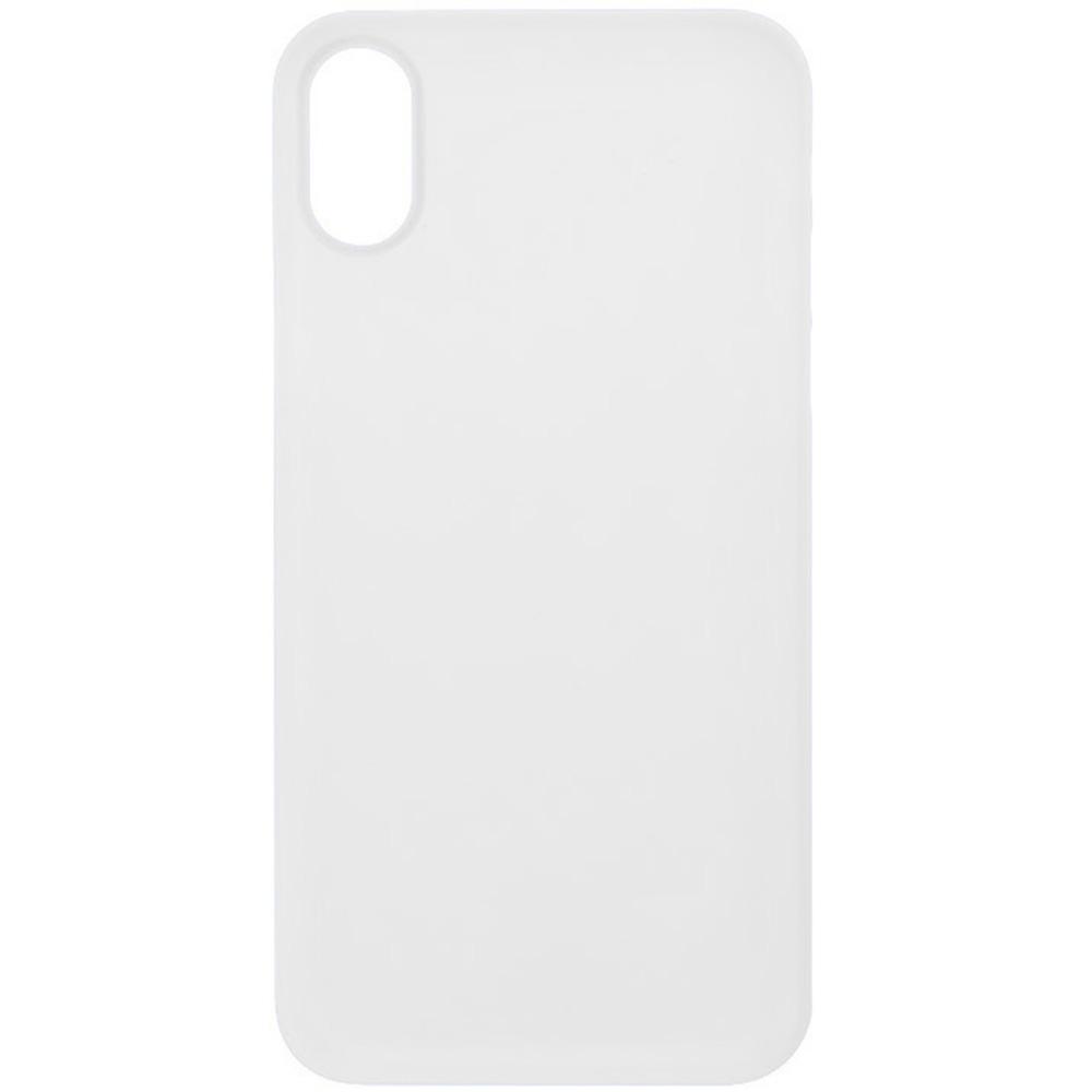 Husa Capac Spate ZMEURINO 0.5 mm Ultra Slim Alb CLVSLIMIPXWH APPLE iPhone X, iPhone Xs