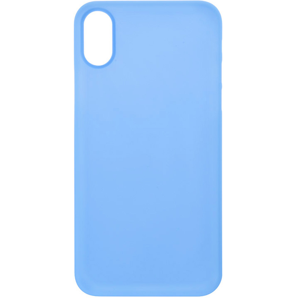 Husa Capac Spate ZMEURINO 0.5 mm Ultra Slim Albastru CLVSLIMIPXBL APPLE iPhone X, iPhone Xs