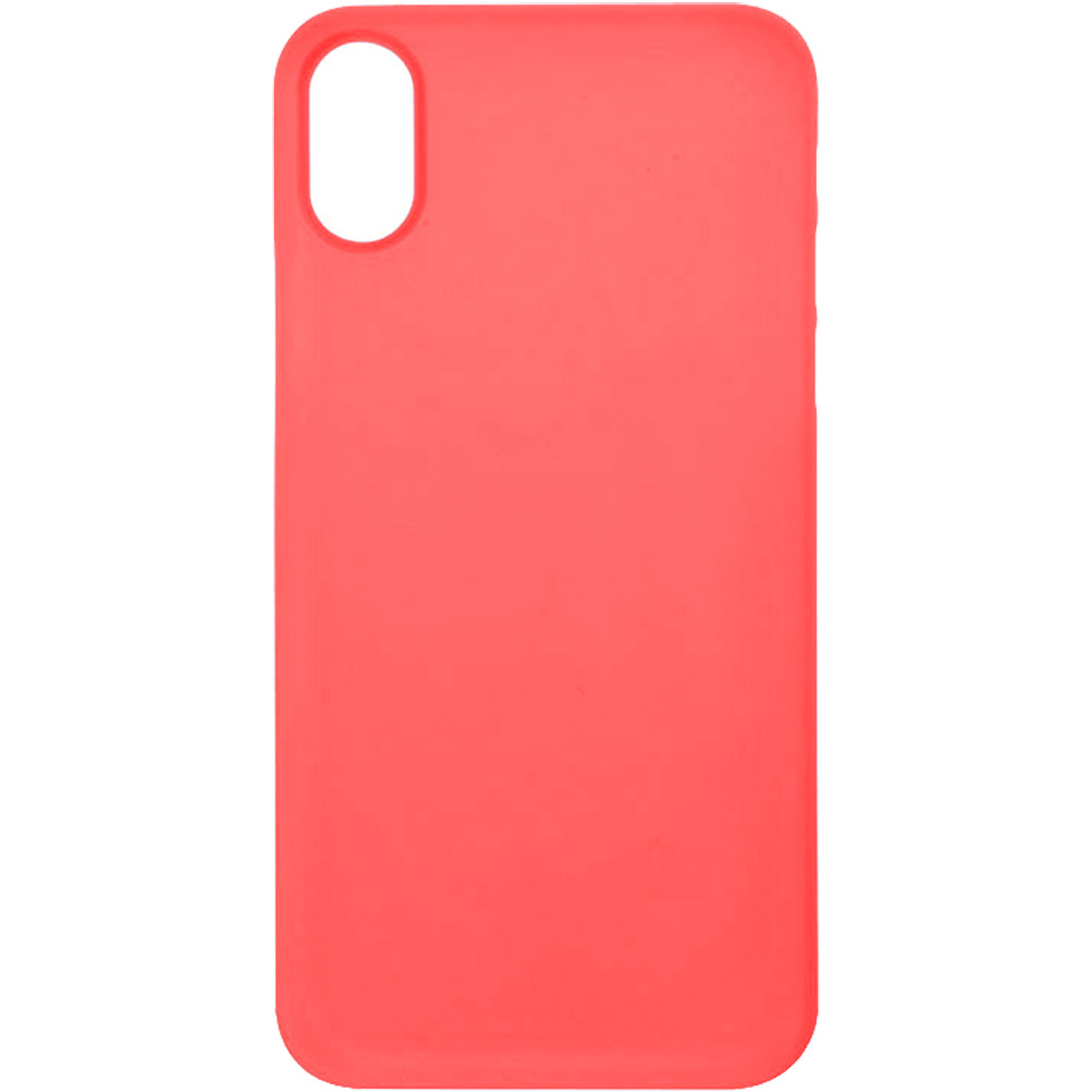 newest b9197 117b5 Phone Cases Back Case 0.5 mm Ultra Slim Back cover Red APPLE iPhone ...