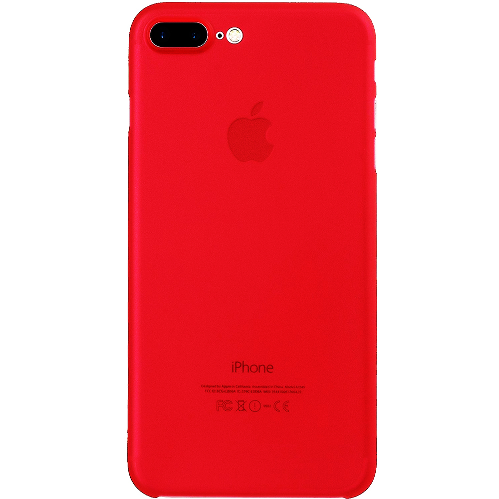 online store fe170 315d9 Phone Cases 0.5mm Back cover Red Apple iPhone 7 Plus, iPhone 8 Plus ...