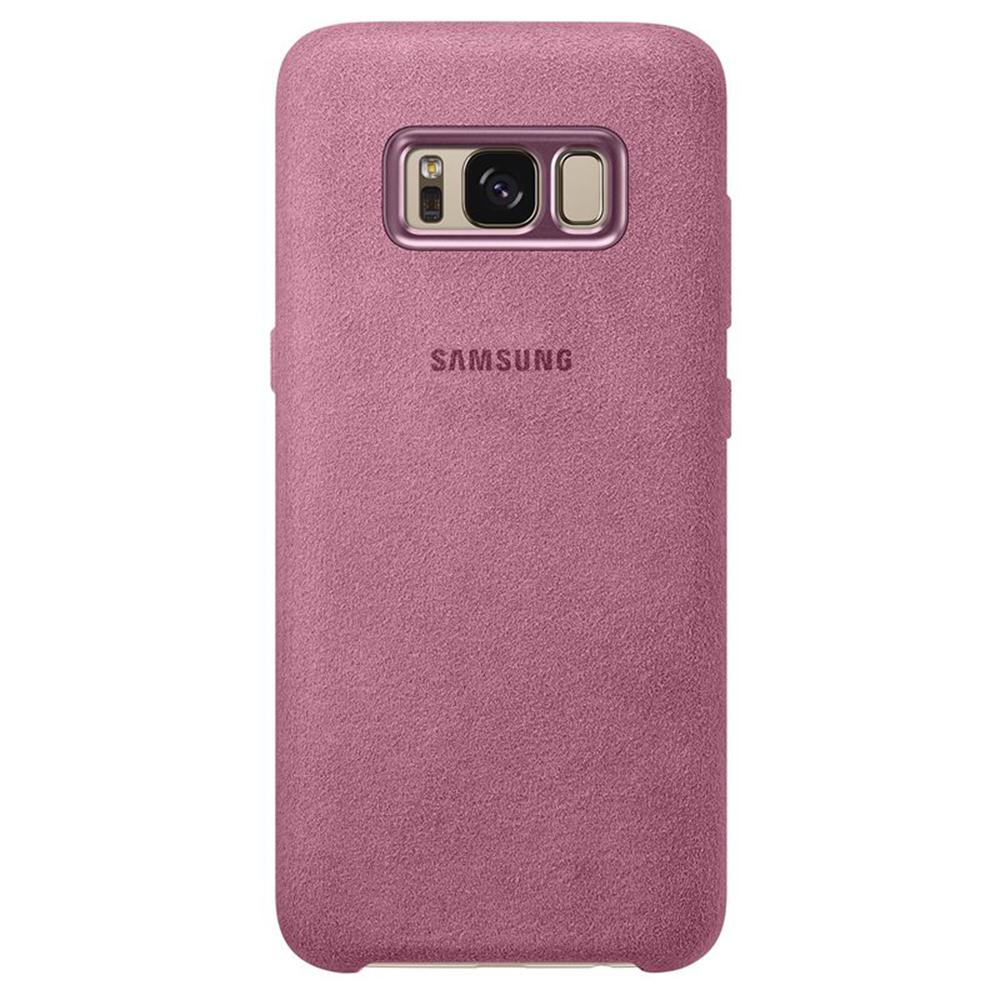 Alcantara Back cover Pink SAMSUNG Galaxy S8