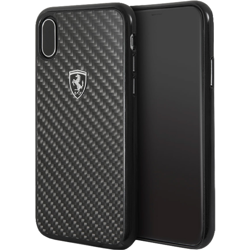 the best attitude 27a50 5c21e Phone Cases Back Cover Carbon Fiber Back cover Black APPLE iPhone X ...