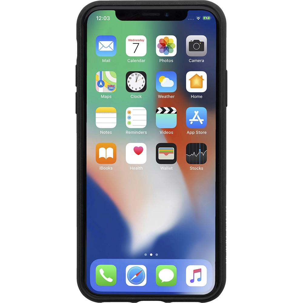 Husa Capac Spate NATIVE UNION Clic Card Negru CCARD-BLK-NP18S APPLE iPhone X, iPhone Xs