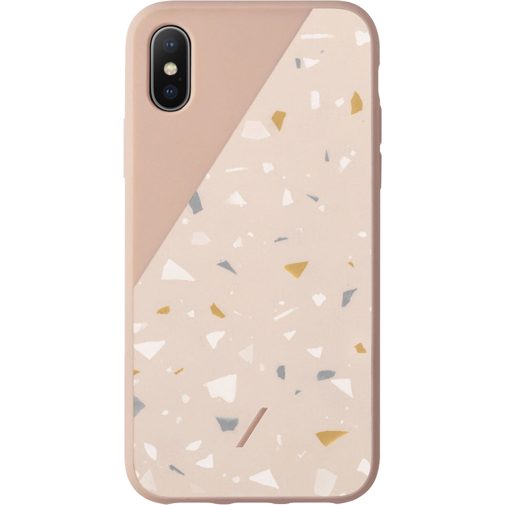 Clic Terrazzo Back cover Pink APPLE iPhone X, iPhone Xs