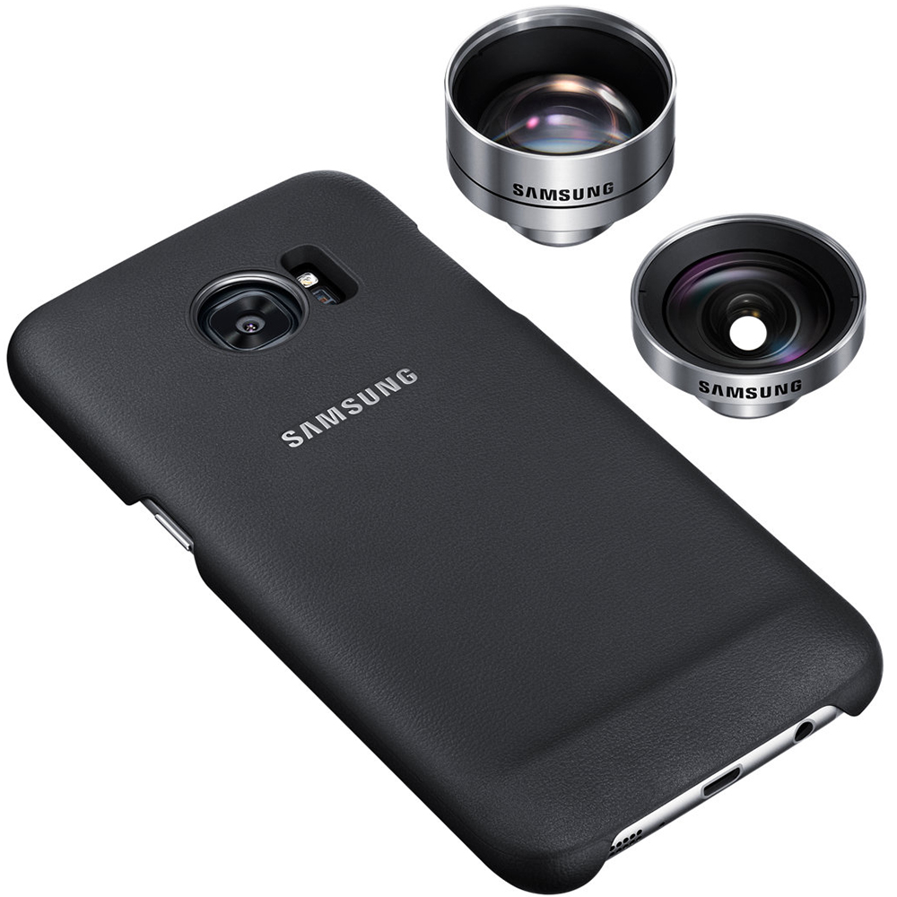 Lens Cover Back cover Black Samsung Galaxy S7 Edge