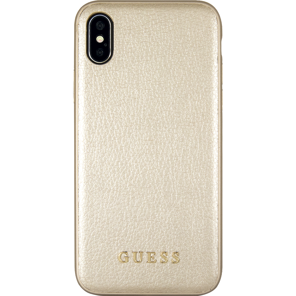 huge selection of f385b 95b45 Phone Cases Iridescent Leather Back cover Gold APPLE iPhone X ...