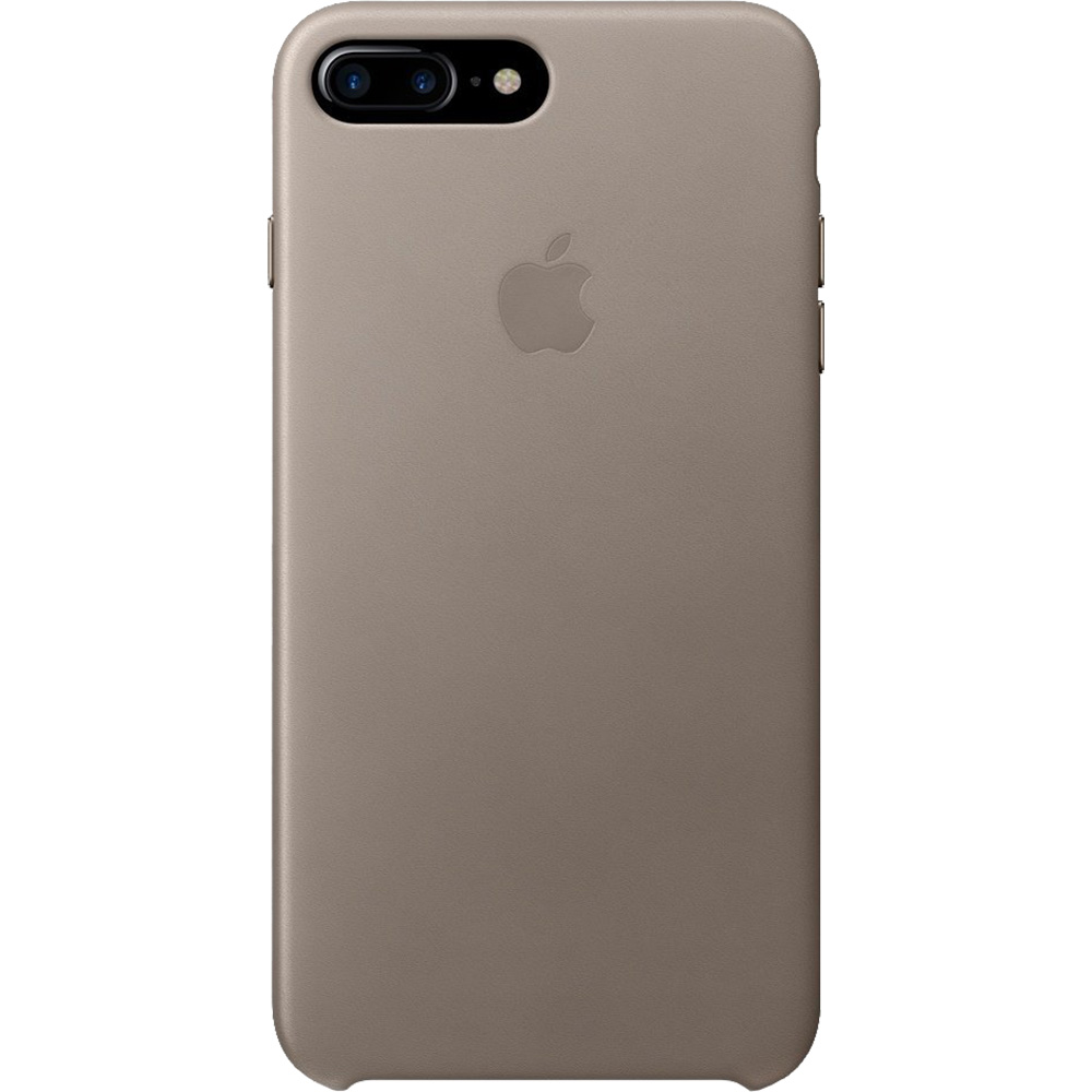 Leather Taupe Back cover Apple iPhone 7 Plus, iPhone 8 Plus
