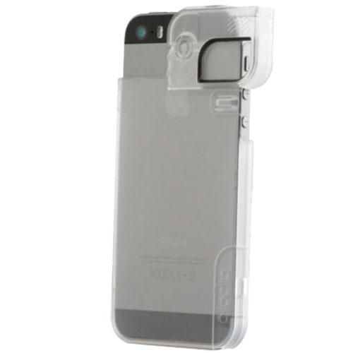 Quick Flip-Case And Pro-Photo Adapter Back cover Transparent APPLE iPhone 5, iPhone SE