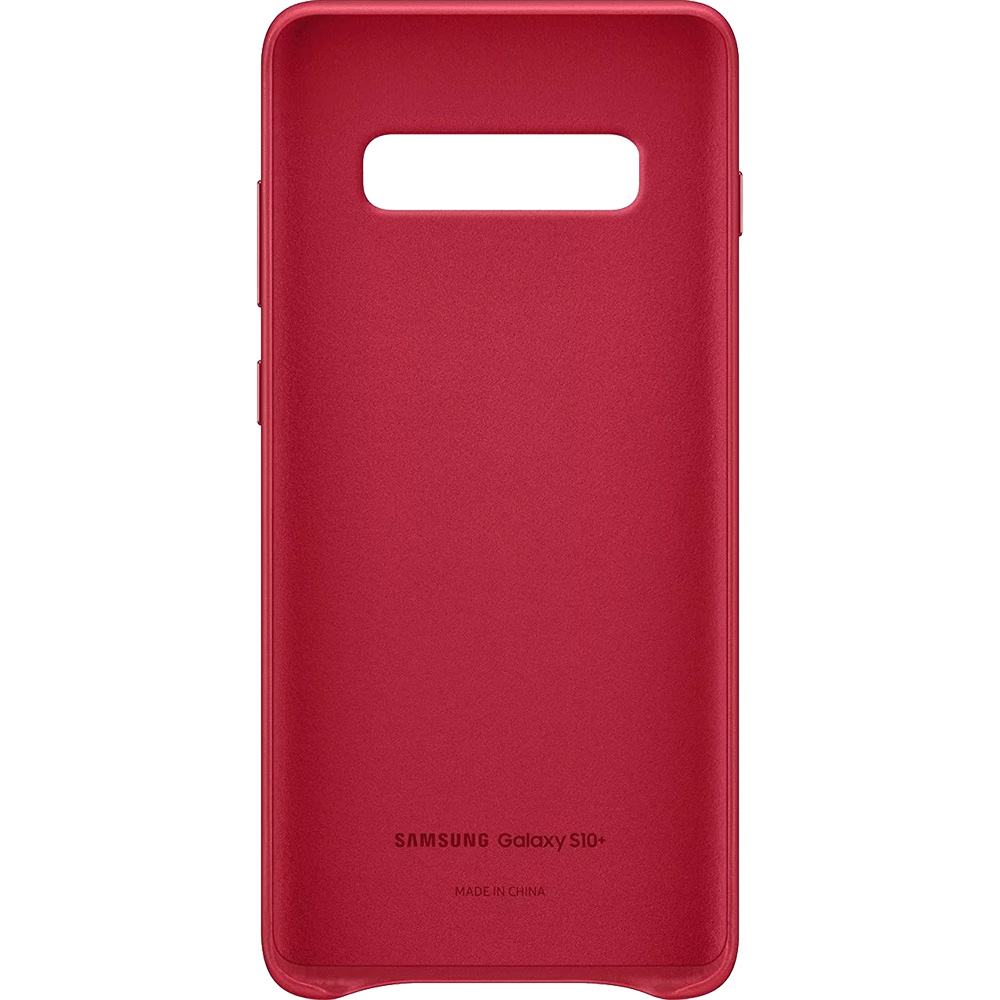 Back cover Red SAMSUNG Galaxy S10 Plus