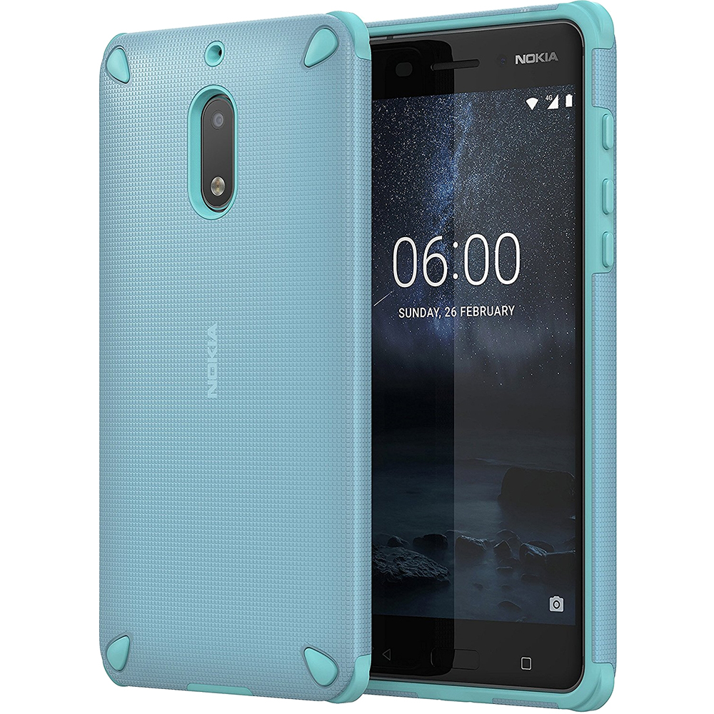 Rugged Impact Back Cover Green Nokia 6
