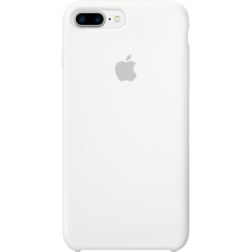 purchase cheap 61f02 04dc4 Phone Cases Silicon Back cover White Apple iPhone 7 Plus, iPhone 8 ...