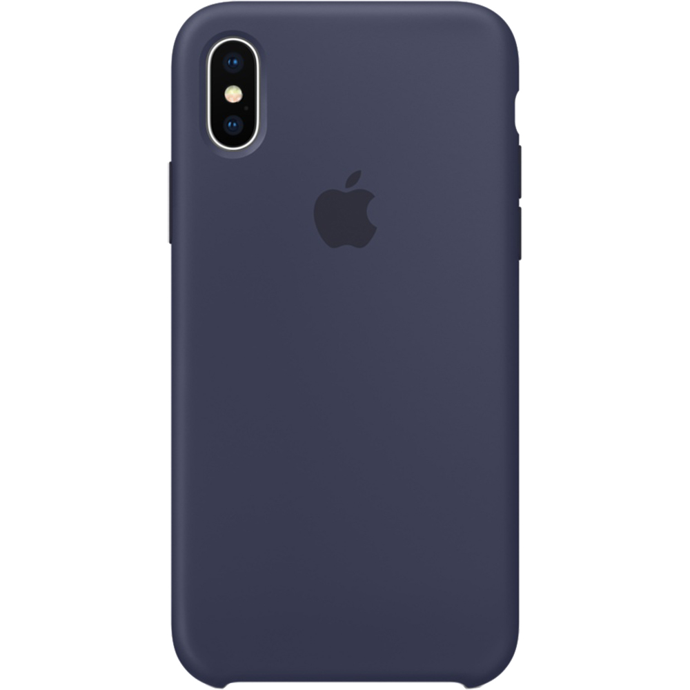 Silicon Back cover Blue APPLE iPhone X