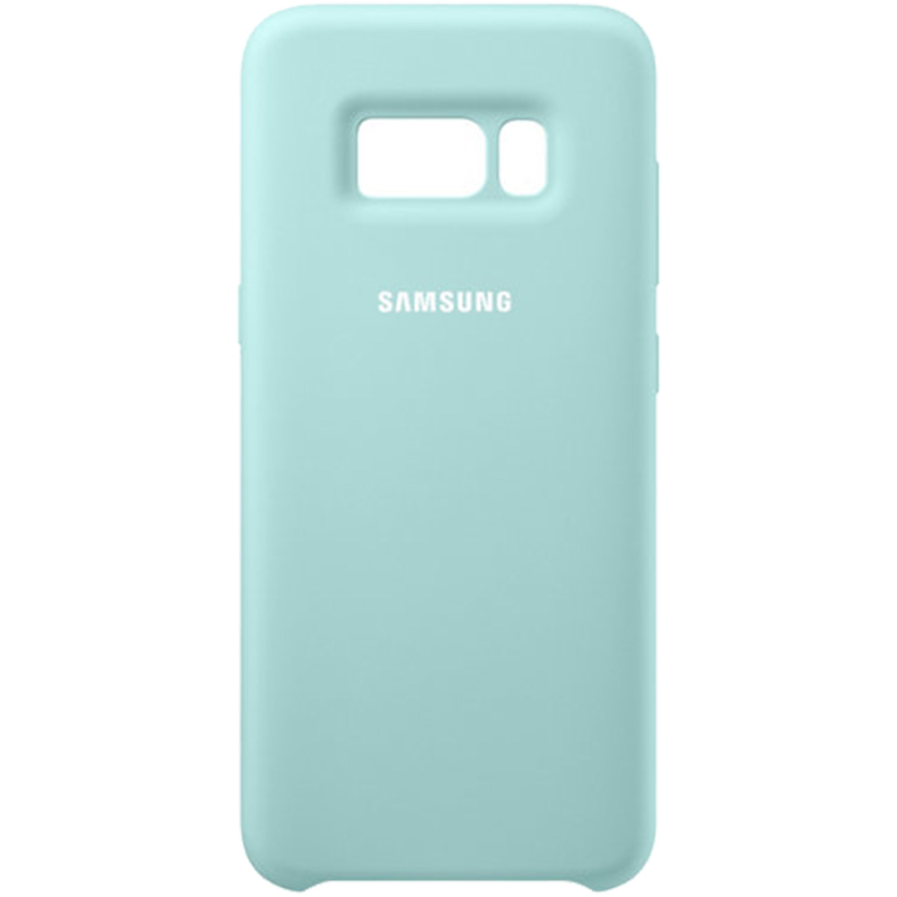 Phone Cases Silicon Cover Back Blue Samsung Galaxy S8 160351 Original Silicone Casing For