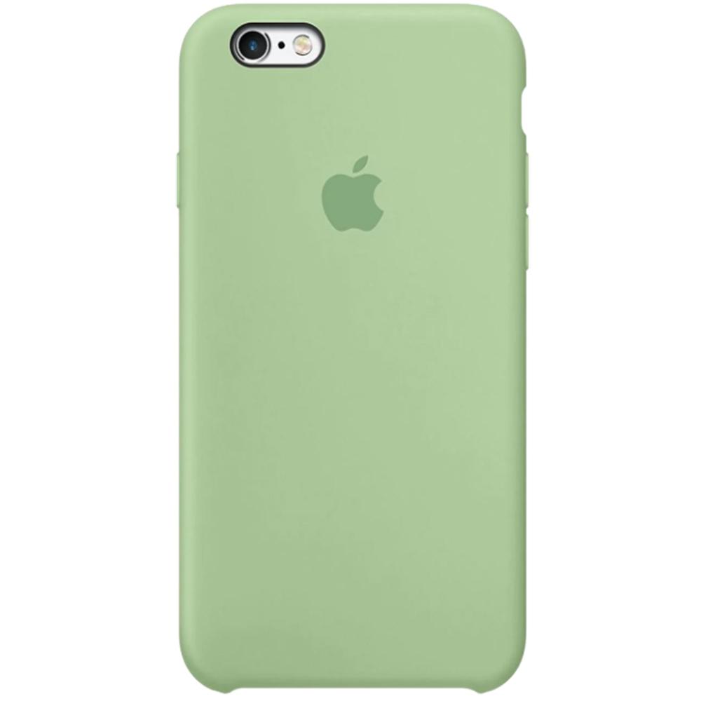 APPLE Cover in Silicone per iPhone 6s Verde acqua