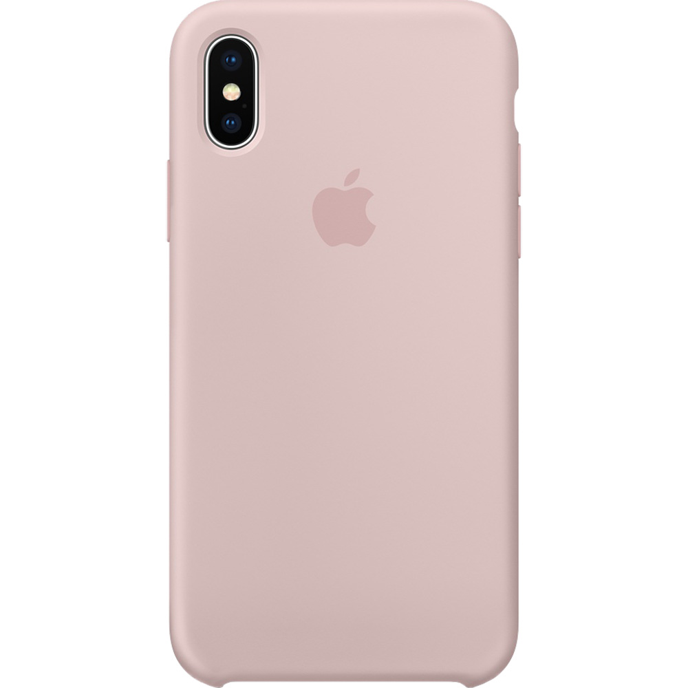 3f2f1ed437c Phone Cases Silicone Back cover Pink APPLE iPhone X 183682 APPLE ...