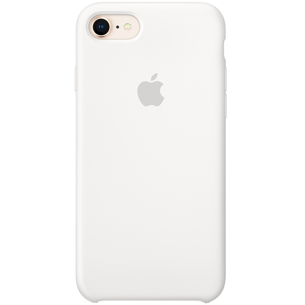 Silicone Back cover White Apple iPhone 7, iPhone 8