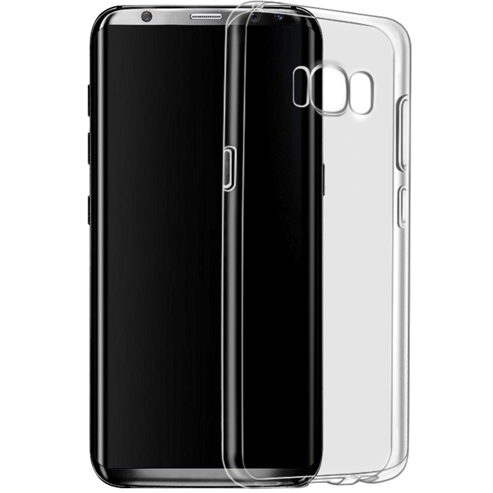 finest selection 39c26 6f792 Phone Cases Slim Back cover Transparent SAMSUNG Galaxy S8 Plus ...