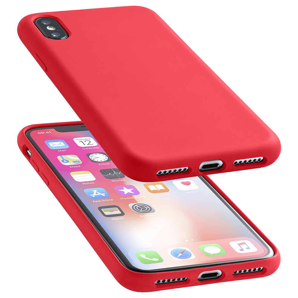 cover iphone x red