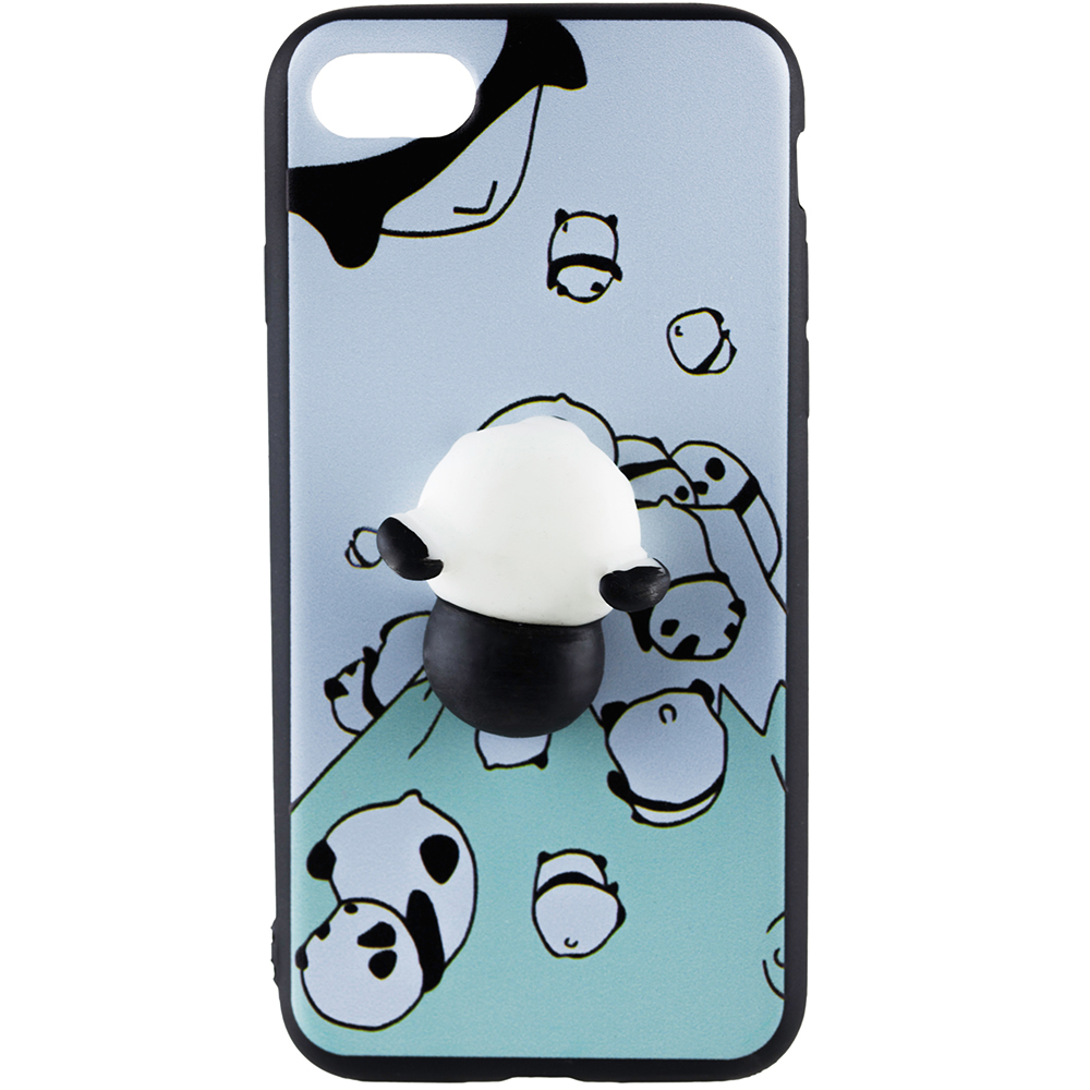 on sale 224fa 51256 Phone Cases Squishy 3D Panda Back cover Apple iPhone 7 Plus 174903 ...