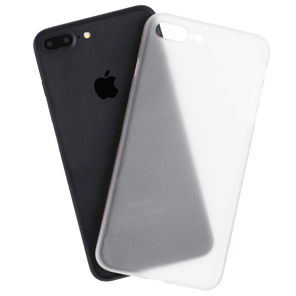 new product a8c44 f2aeb Phone Cases Transparent 0.5mm Back cover White Apple iPhone 7 Plus ...