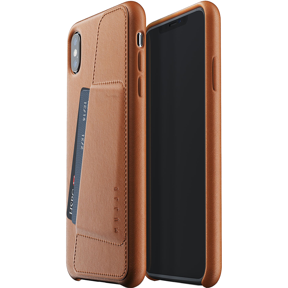 Wallet Back cover Brown APPLE iPhone Xs Max