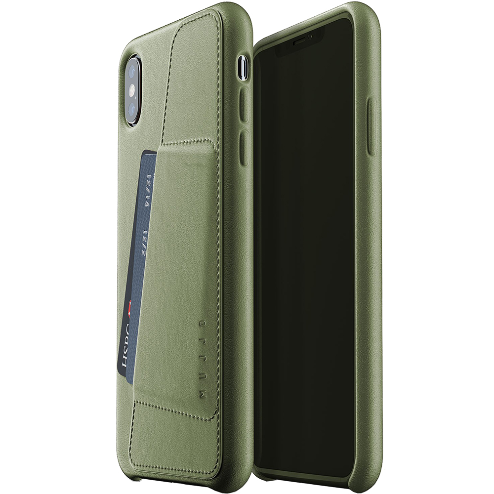 Wallet Back cover Green APPLE iPhone Xs Max