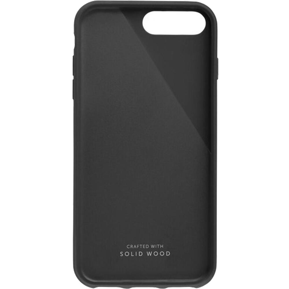 Phone Cases Walnut Wood Back cover Black Apple iPhone 7 Plus ...
