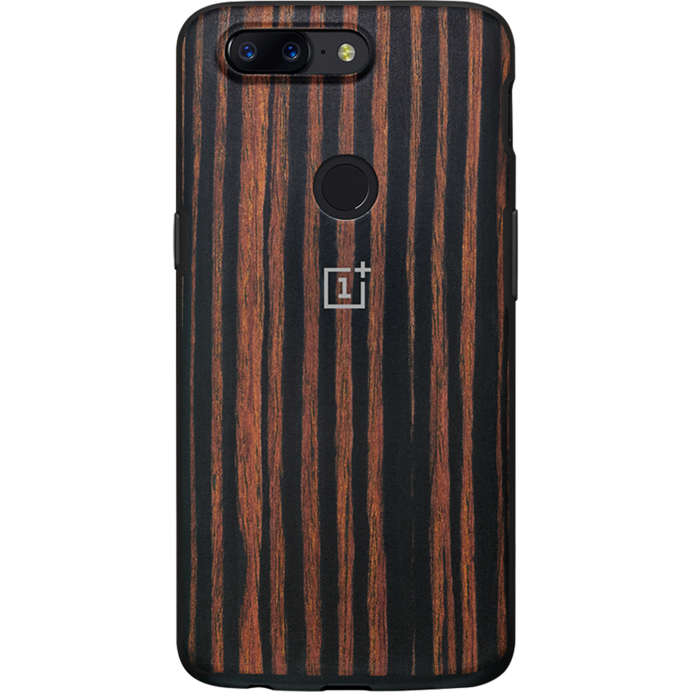 separation shoes 7a4a8 1ce4e Phone Cases Wood Ebony Back cover Brown ONEPLUS 5T 187850 ONEPLUS ...