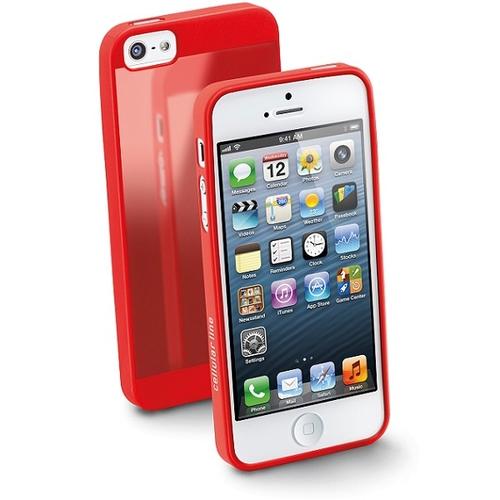 timeless design 007af 5946d Phone Cases Gummy Slim Back cover Red APPLE iPhone 5s, iPhone SE ...
