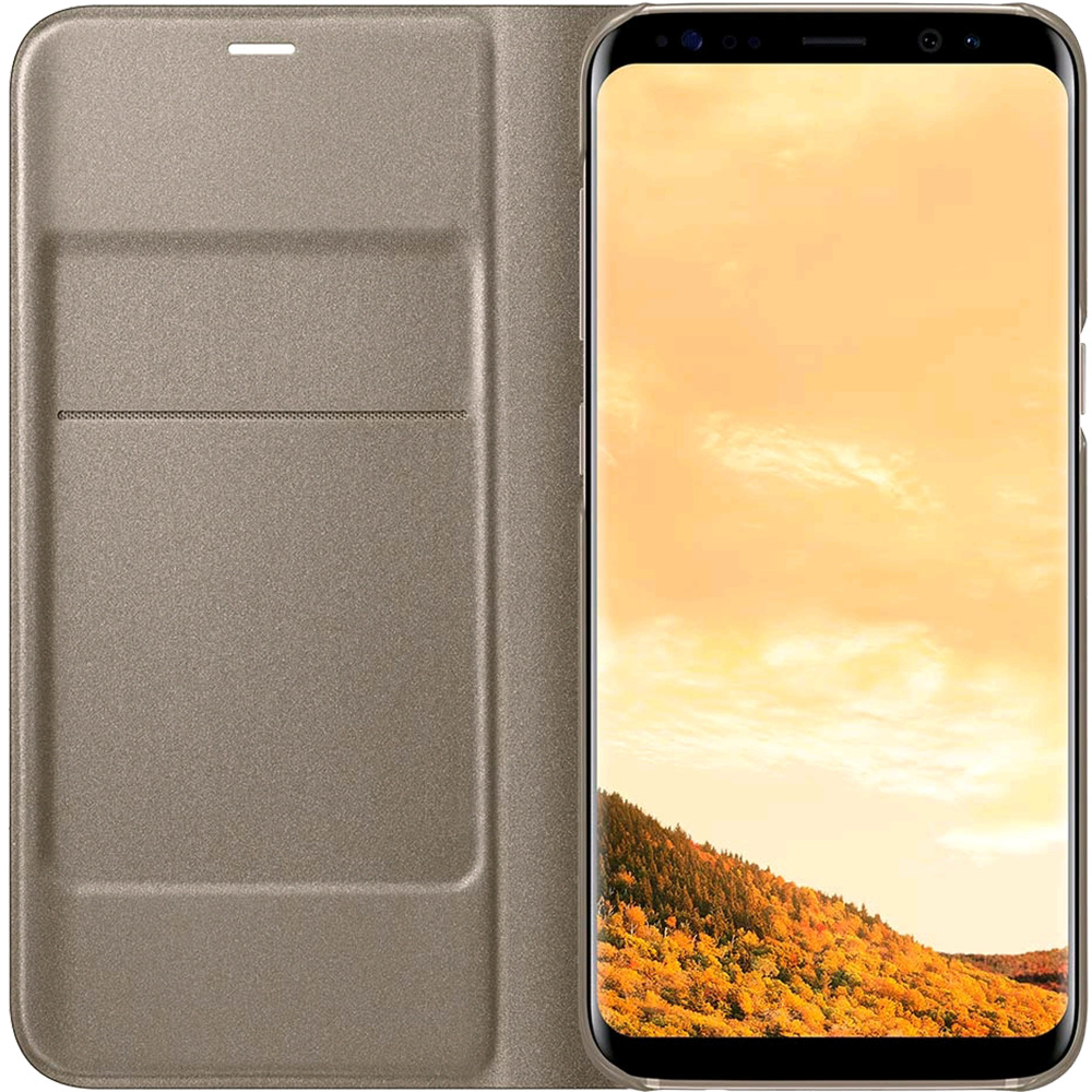 Led View Book Gold SAMSUNG Galaxy S8
