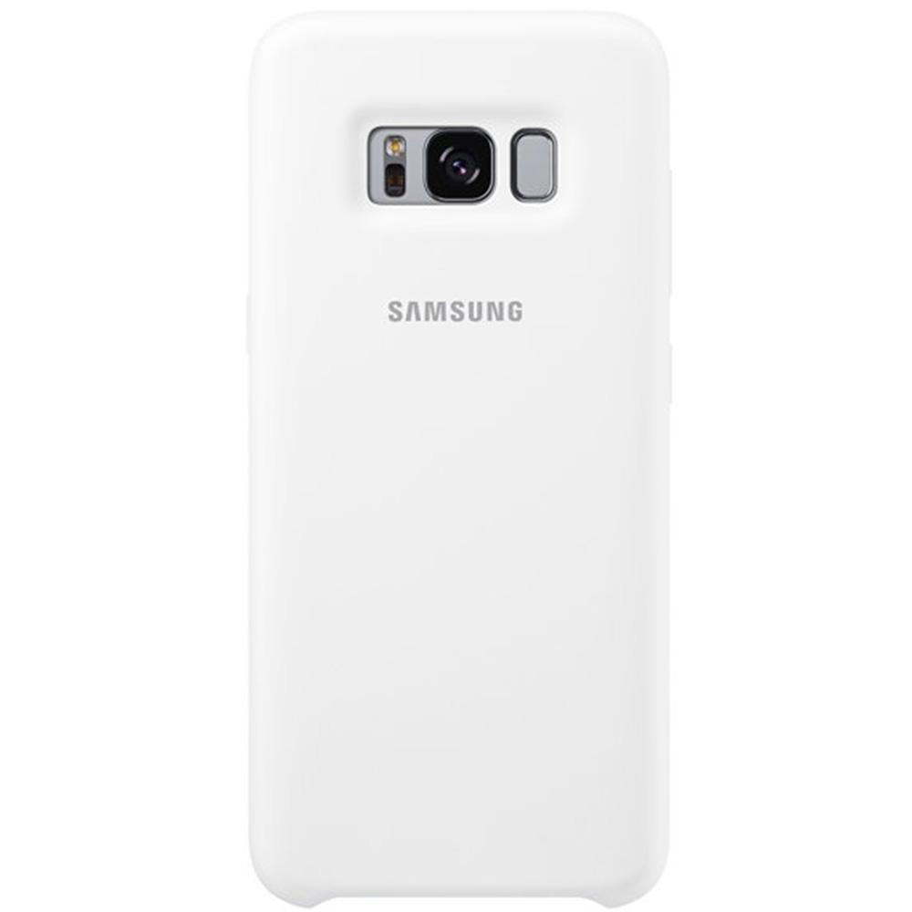 5c5c9e9b349 Phone Cases Silicon Cover Back cover White SAMSUNG Galaxy S8 Plus ...