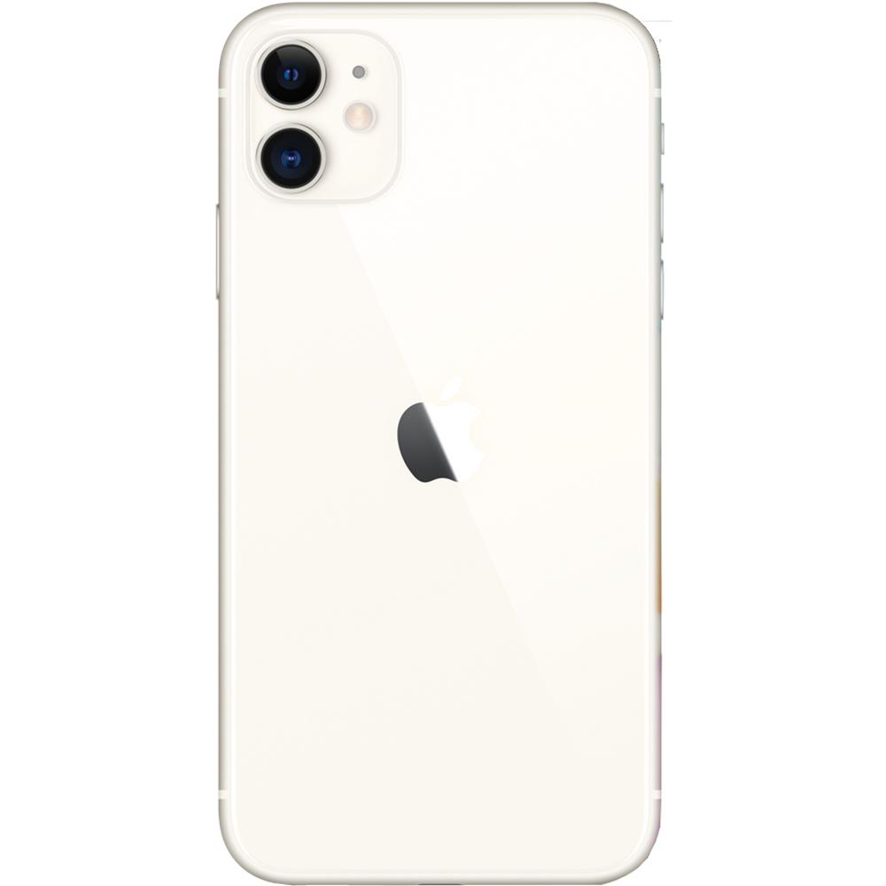 APPLE iPhone 11 Dual Sim Fizic 128GB LTE 4G Alb 4GB RAM