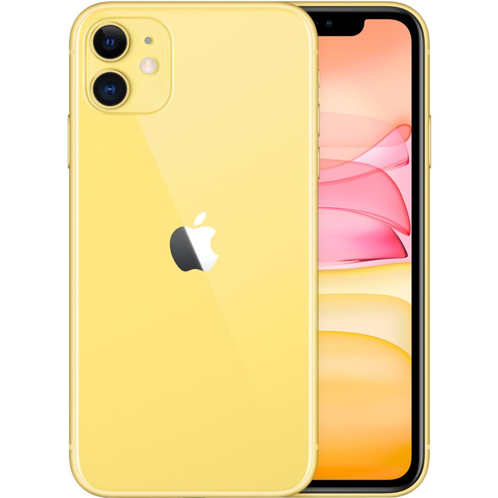 APPLE iPhone 11 Dual Sim eSim 128GB LTE 4G Galben 4GB RAM