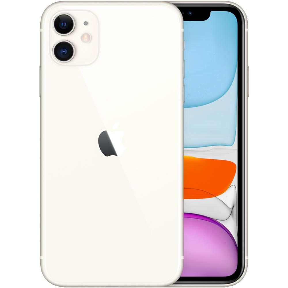 APPLE iPhone 11 Dual Sim Fizic 64GB LTE 4G Alb 4GB RAM