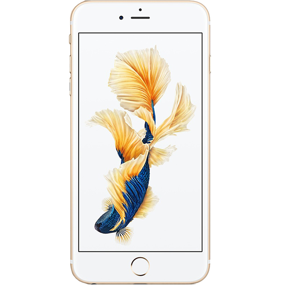 Mobile Phones Iphone 6s Plus 64gb Lte 4g Gold Factory Refurbished 6 Replacement By Apple