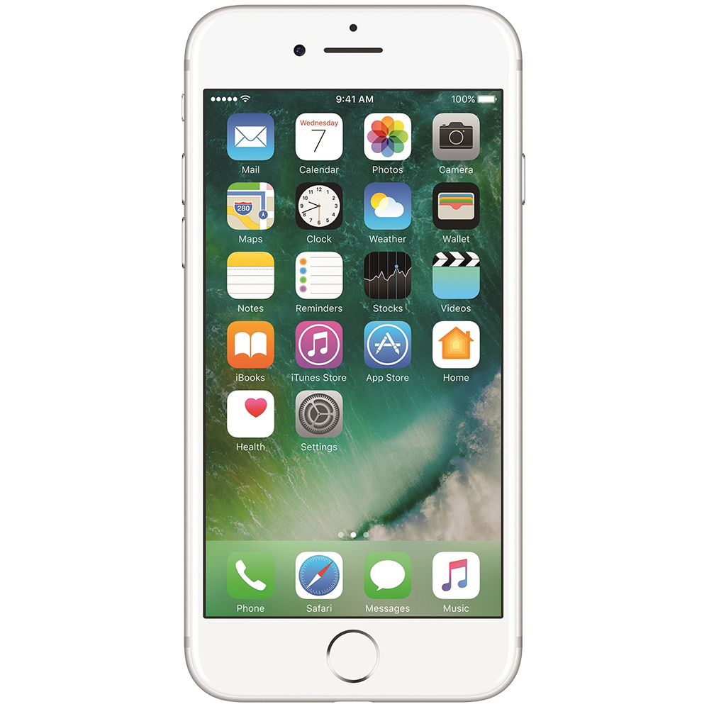 IPhone 7 256GB LTE 4G Silver Factory Refurbished
