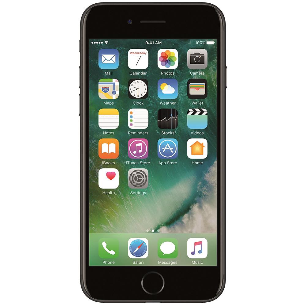 IPhone 7 256GB LTE 4G Black Factory Refurbished
