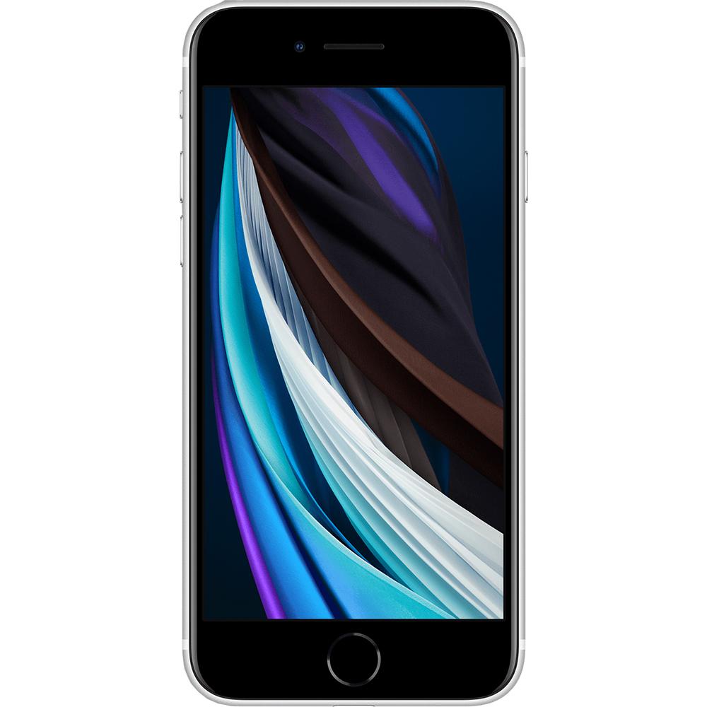 APPLE iPhone SE 2020 Dual Sim eSim 128GB LTE 4G Alb 3GB RAM