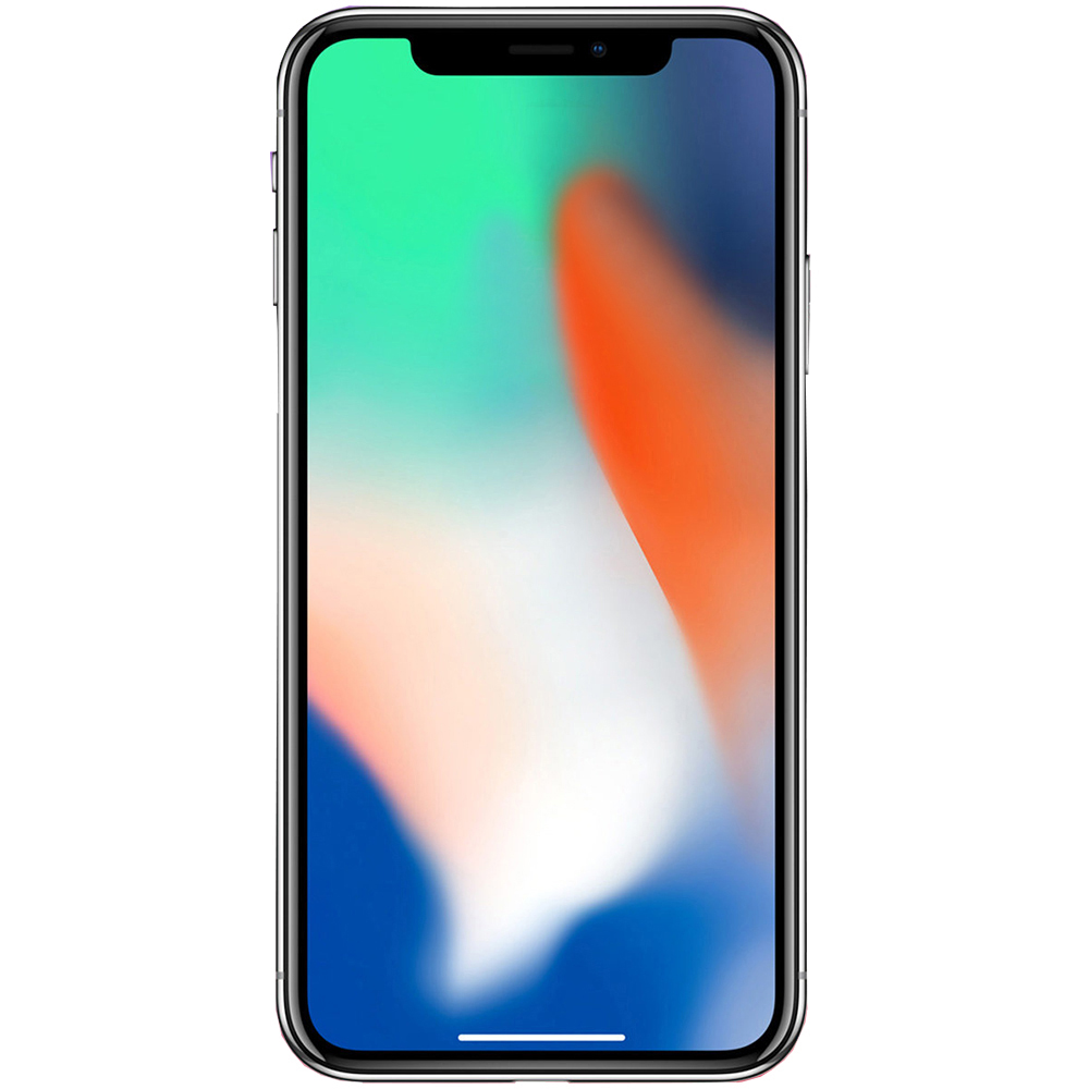 IPhone X 256GB LTE 4G Silver Factory Refurbished 3GB RAM