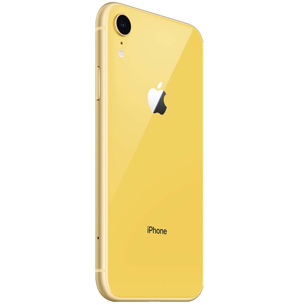 APPLE iPhone XR Dual Sim eSim 64GB LTE 4G Galben 3GB RAM