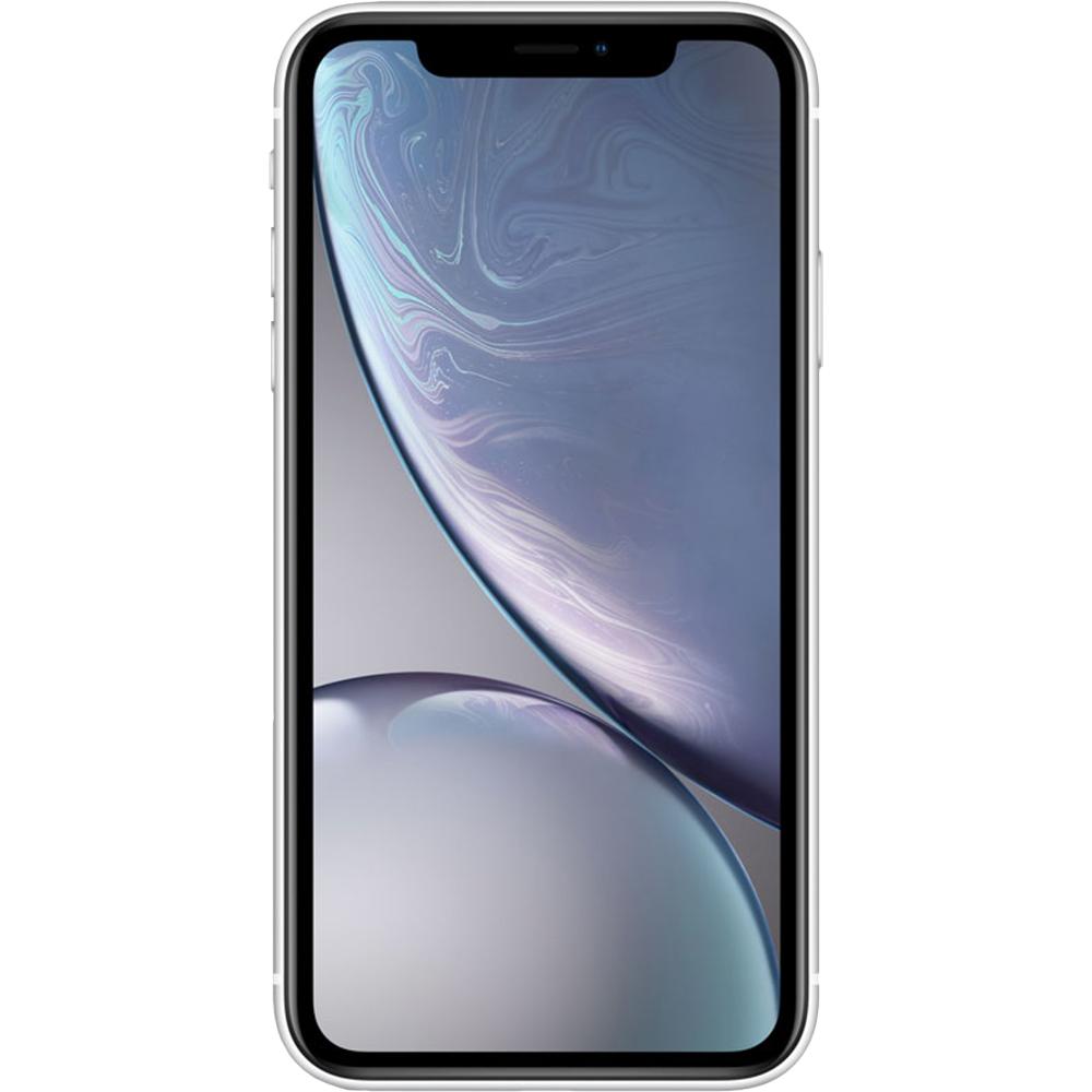 Mobile Phones IPhone XR Dual Sim 64GB LTE 4G White 3GB RAM